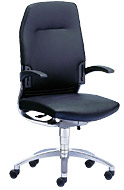 Изящный офисный стул cambio для оптимального комфорта