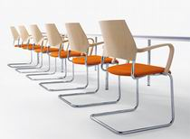 Немецкие стулья для переговоров и для посетителей filio ткань