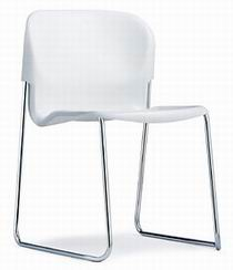 Немецкий универсальный стул для офиса из Акрила с хромированными ножками