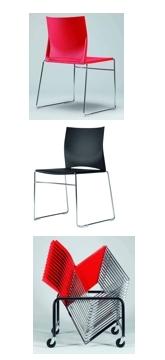Немецкий легкий качественный стул для современного офиса
