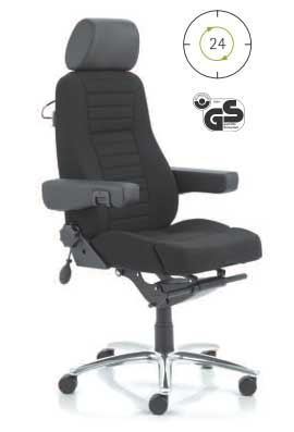Кресло для операторов, предназначено для круглосуточной работы в диспечерских