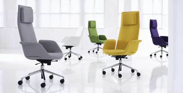 Офисные стулья для конференций fenix - высокое качество материала.