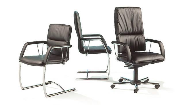 Крутящиеся офисные стулья и кресла SITAG LEADER