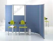 Синяя офисная перегородка RS Stellwand